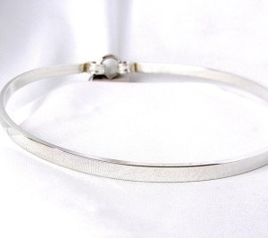 Sterling Silver Collar Etsy