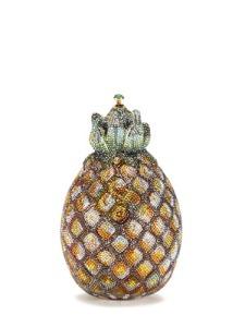 Judith Leiber Hawaiin Pineapple Crystal Clutch