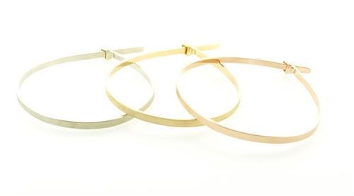 Luis Morais Hand-crafted Gold Hand Cuff Ties
