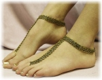 Slave Anklet Copper Catherine Cole