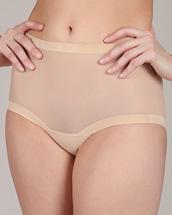 Wolford Nude Tulle Panties
