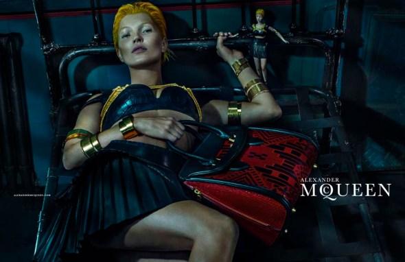 Kate Moss Alexander McQueen 2014 Purse Bed