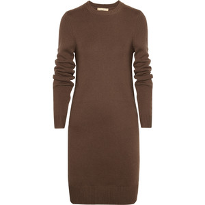 Michael Kors chocolate sweater dress. 100% cashmere