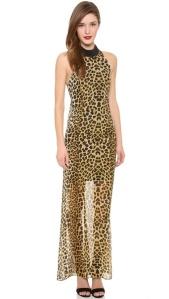 Nicholas Jungle Leopard Gown
