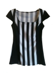 Referee Shirt Female Cap Sleeved