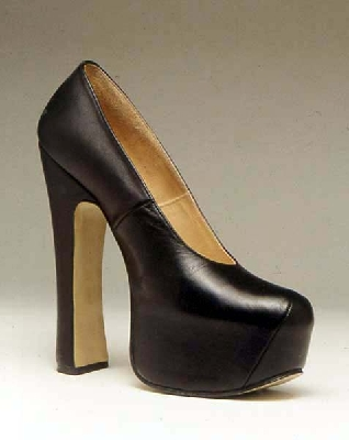 vivienne-westwood-black platform shoe
