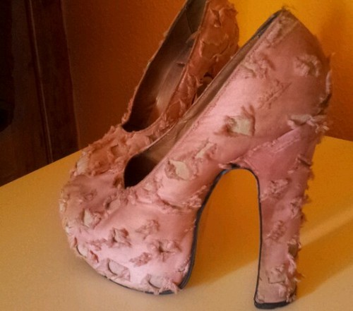 Vivienne Westwood Pink Platforms