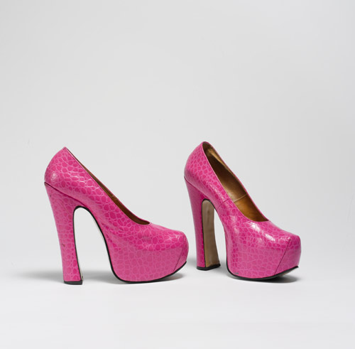 Vivienne Westwood_Shoe_Platform Pink