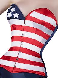 WhatKatieDid stars stripes corset