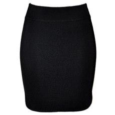 Alexander Wang Black Knit Mini Skirt