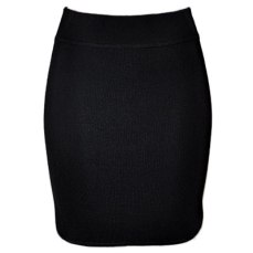 Alexander Wang Black Knit Mini Skirt