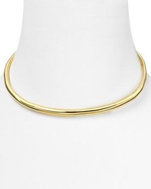 Alexis Bittar Liquid Gold Collar