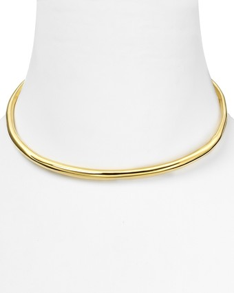 Alexis Bittar Liquid Gold Collar