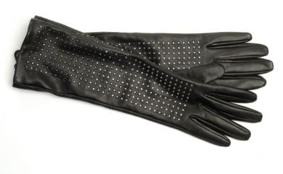 Brian Atwood Target Neiman Marcus Leather Studded gloves