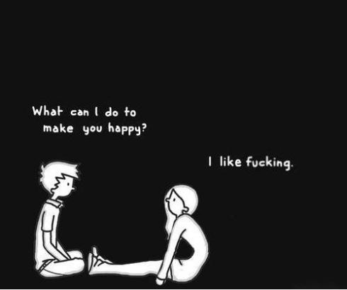 Cartoon about Desire