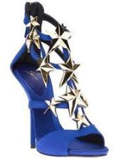 Giuseppe Zanotti Design Star Stiletto Sandal royal