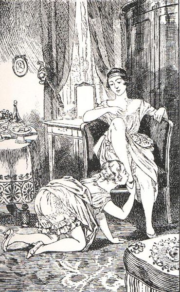 Martin van Maele - La Comtesse au fouet