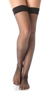 Falke Black Stay Up Tights