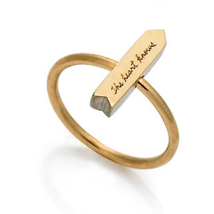Jeanine Payer Arrow Ring