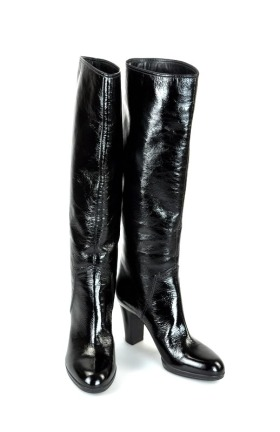 Sergio Rossi Patent Leather Boots