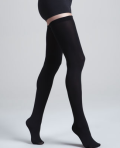 Wolford Fatal Black Stay Up Tights