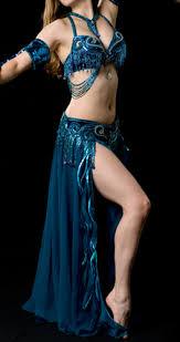 Belly Dancing Teal