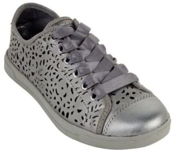 DKNY laser cut sneakers
