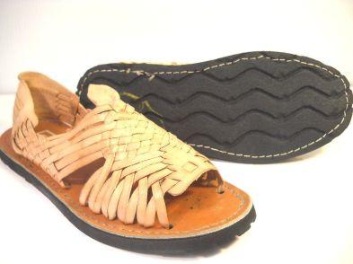 HUARACHE nude leather