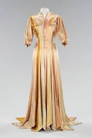 Charles James Dressing Gown Silk