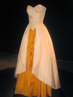 Charles James Georgia O'Keefe Reference Dress