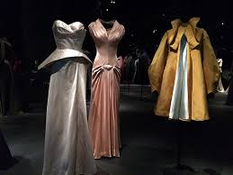 Charles James Peach Silk Dress2