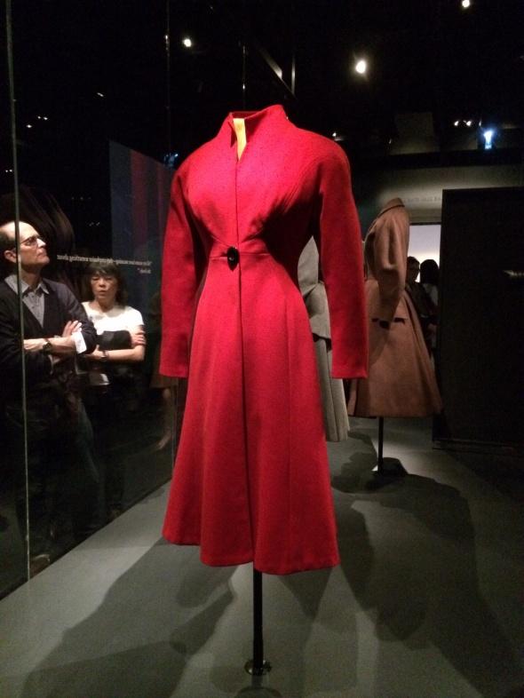 Charles James Red Coat