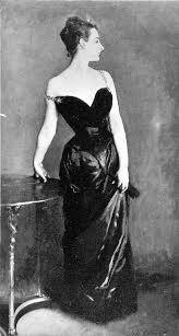 Madame X with should strap off