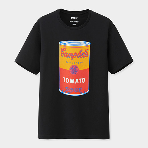 Uniqlo warhol soup can t shirt dievca for Uniqlo moma t shirt