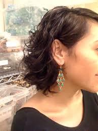 Wendy Mink Lapis Chandelier Earrings Person