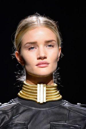 Balmain Gold Posture Collar