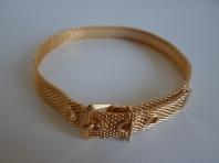 1970's Vintage Gold Mesh Collar