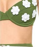 Michael Kors Collection Garden Club Solids Bikini Detail