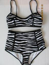 Michael Kors Zebra Stripe eBay swimsuit