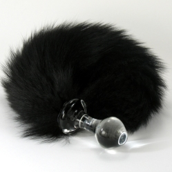 Plug-Black-Fox-Tail