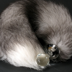 Plug-Large-Silver-Fox-Tail