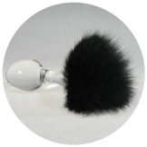 Plug-Magnetic-Black-Bunny-Tail-attached