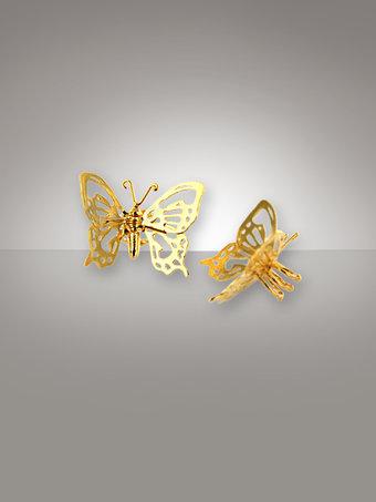 Alex Monroe Silver Butterfly Nipple Clamps 344BPD