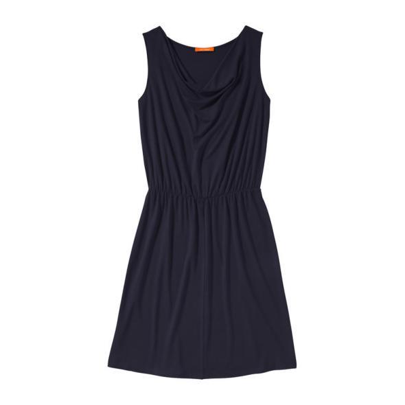 Joe Fresh™ for JCPenney Sleeveless Cowlneck Dress Navy