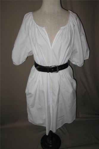 John Patrick Organic White Cotton Dress