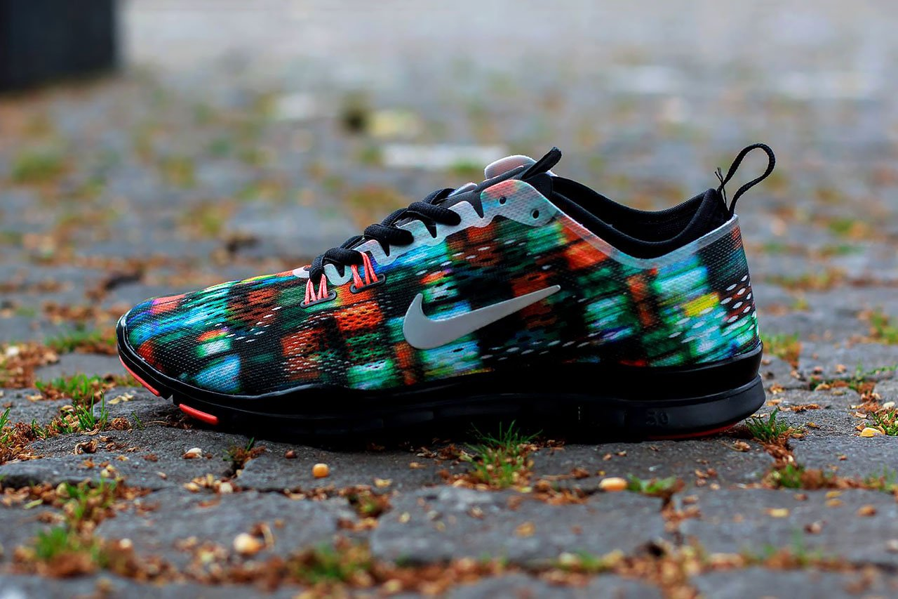 best loved 9a5f9 29622 Nike Womens Free-5.0 TR Fit 4 Print