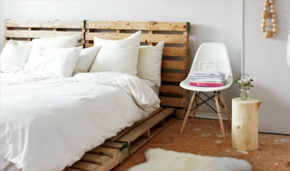 pallet-bed-frame-for-bedroom