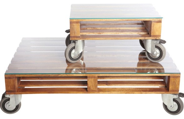 Pallet coffee tables House Doctor DK
