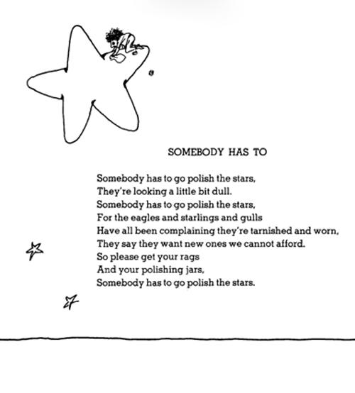 Shel Silverstein Polish the Stars