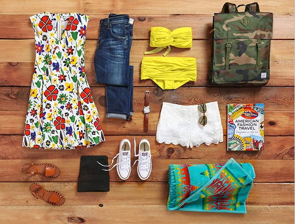 ShopBop Packing List for Labor Day
